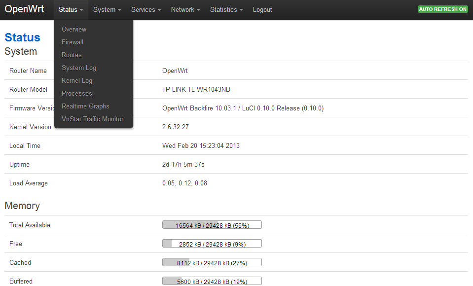 OpenWRT Image Creator for TP-Link WR841 - Antoine Aflalo